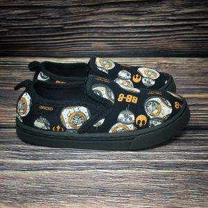 Star Wars Official BB-8 DROID Boys CANVAS Slip On